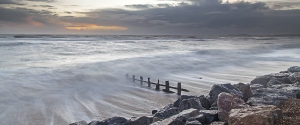 After the storm – Barton-on-Sea