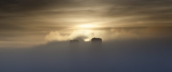 The Two Towers – Corfe Castle